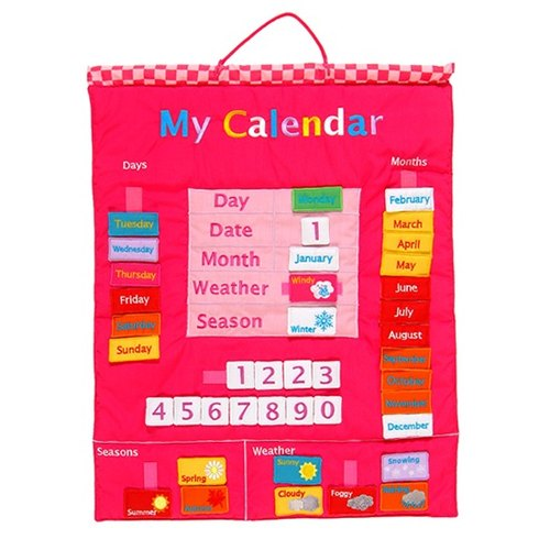 UK Fiesta good toy - my calendar (Pink)