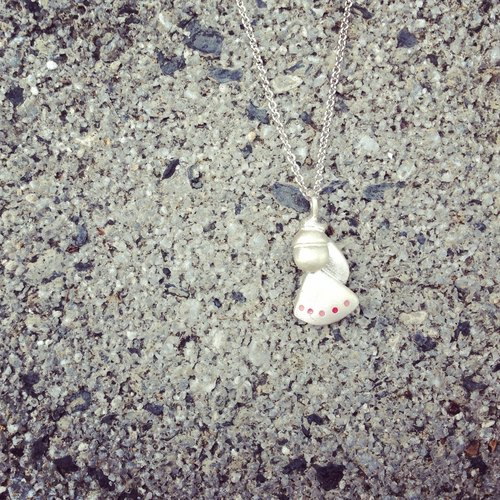 Minifeast Silver|Little Princess Necklace