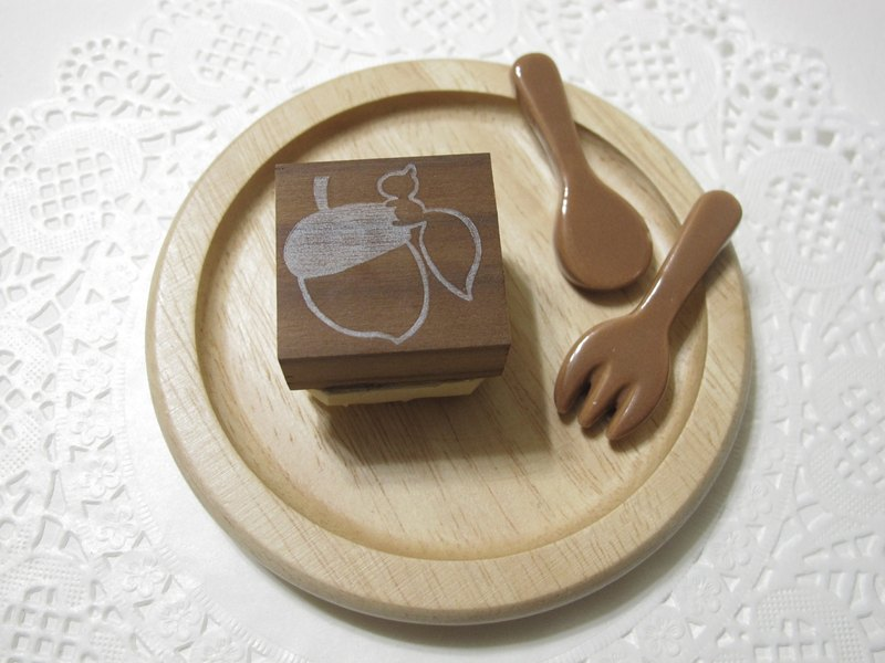 [Stock goods] handmade rubber stamp - generic name Zhang Series (Squirrel)