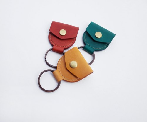 Good insurance key ring / Cozy Leather Works