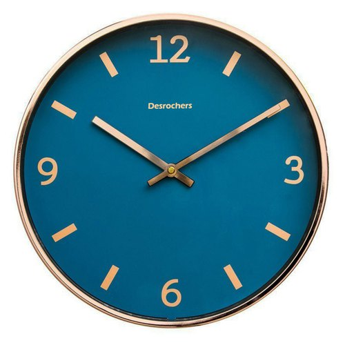 Desrochers / Deep Blue Sea ○ rose gold clock