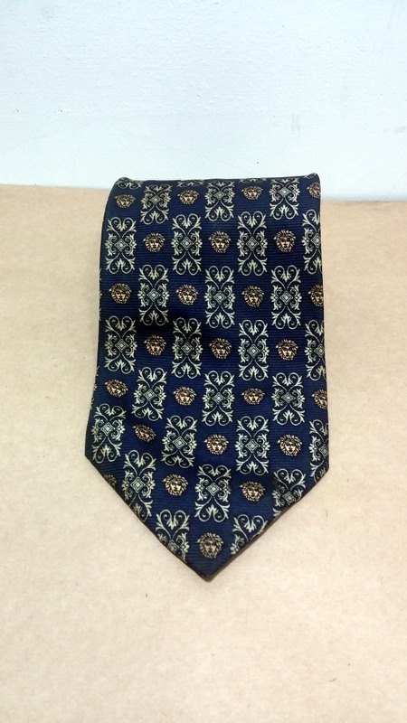 GIANNI VERSACE classic palace pattern vintage tie