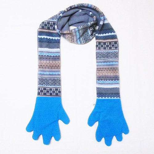 "★ ""people person Corporation"" Scarf (Winter Limited) - gloves, scarves (Japan blue)"