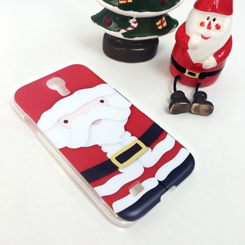 Christmas Series - Red Santa Claus Print Soft / Hard Case for iPhone X,  iPhone 8,  iPhone 8 Plus, iPhone 7 case, iPhone 7 Plus case, iPhone 6/6S, iPhone 6/6S Plus, Samsung Galaxy Note 7 case, Note 5 case, S7 Edge case, S7 case