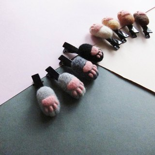 Mini small meatballs headdress clip / brooch