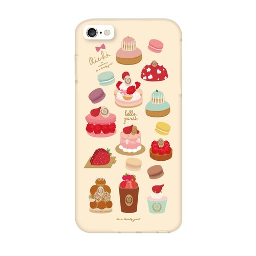 Custard cream Phonecase iPhone6/6plus+/5/5s/note3/note4 Phonecase