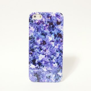 Pastoral series ll violet blue ll hand-painted oil painting phone case