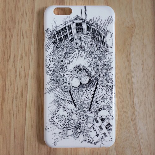 Draw On the Bed multiplicative DISENO iPhone 6 / 6s Plus Phone Case (Hong Kong Sham Shui Po paragraph)