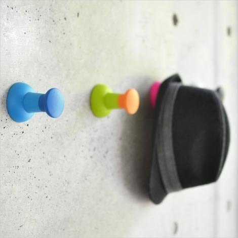 [DCI] pin shape wall hooks