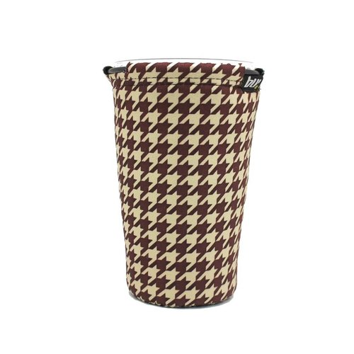 BLR Drink caddy [ Brown Houndstooth ] WD91