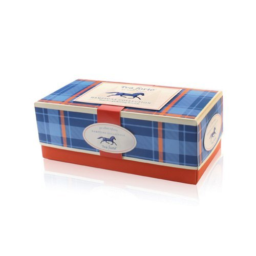 Tea Forte silken tea bags into the Hampton share 20 Ribbon Box - Hamptons Collection
