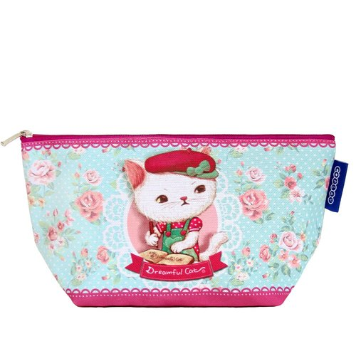 COPLAY  cosmetic bag-cat painter