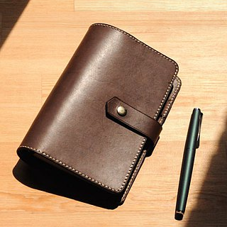 [DOZI leather hand made] six-hole notebook (A5, A6, A7 size) free color matching