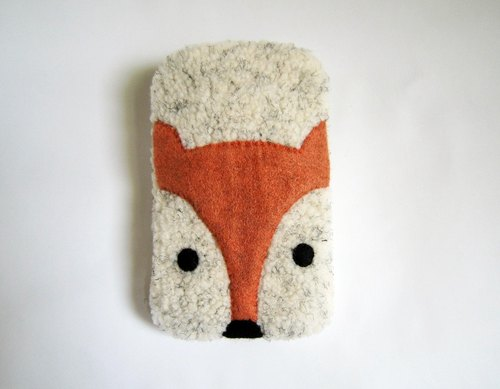 Naughty Fox cell phone pocket -iPhone6 ​​Plus size custom models (including carrying strap)