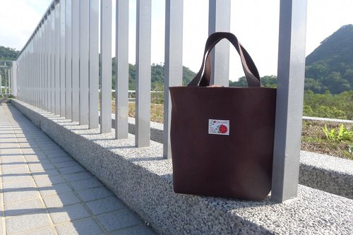 ✎ palette bag / lunch bag / Universal Bag | beam-mouth | Japanese ladybug cloth superscript | coffee