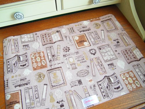 Small group book pattern placemat
