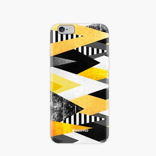 Snupped SpaceCase Phone Case - Yellow Peaks