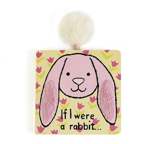 Jellycat Board Book - If I were a rabbit ...