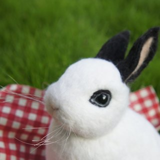 Wool felt imitation rabbit hakka (15CM large)
