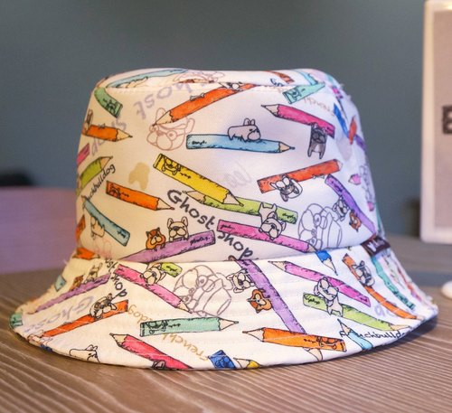 (Sold out) method bucket hat - colored pencils