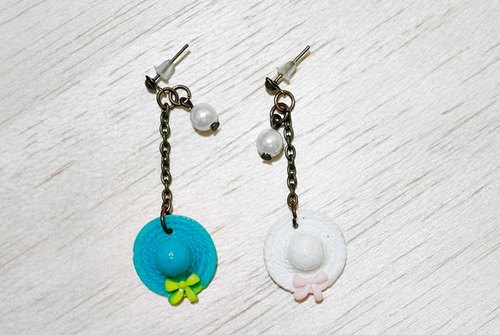 Alloy * Ladies * _ pin earrings - color series -