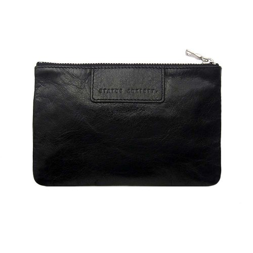 [Status Anxiety] MOLLY flat folder _Black / Black