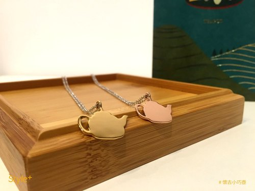 Taiwan ceremony thick necklace - nostalgia small pot