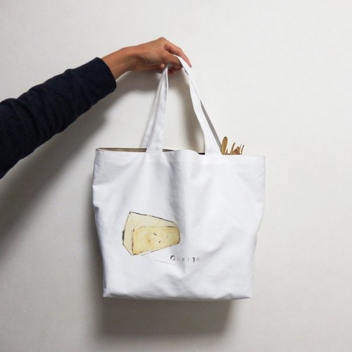 Tote Bag (cheese) L