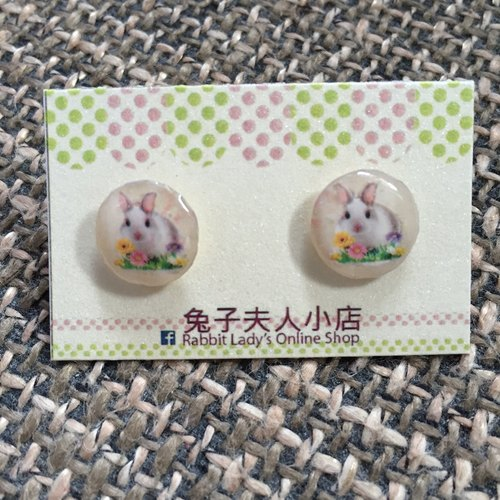 Cute bunny earrings