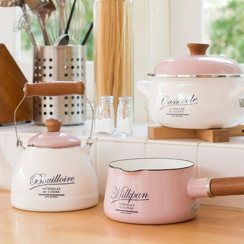(Super discount 2 group) Macaron Series - + milk pot soup pot (color optional) (collar volume reproduce discount 5% off) (Japan discontinued soon out of print) final spot