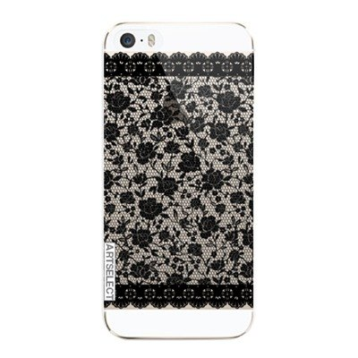 Girl apartment :: Artselect x iphone 5 / 5s phone shell transparent - Black Lace