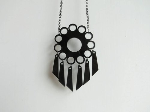 Roulette black necklace new civilization - the Cosmos series
