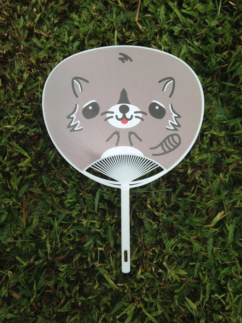mixmania small raccoons cool fan