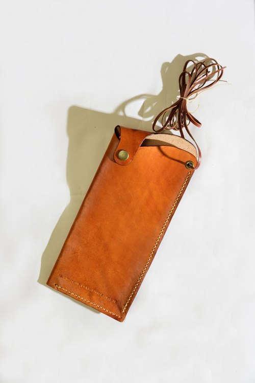 Handmade leather phone sets (iphone6 ​​plus models can be customized)