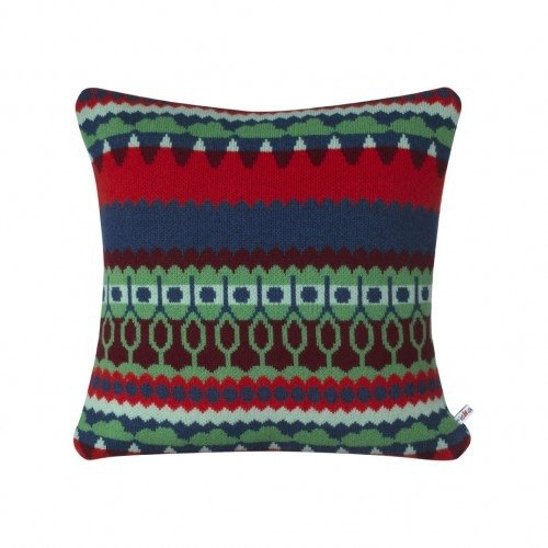 Tree Pure Wool Pillow - Green | Donna Wilson