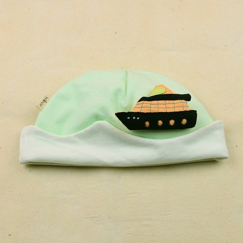 Organic cotton baby sea yo wizard hat
