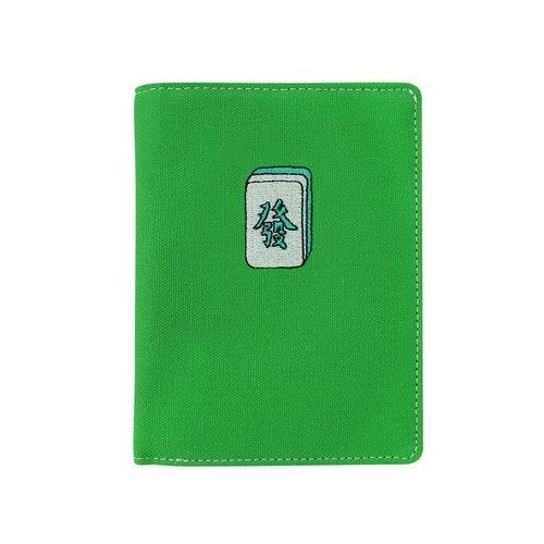 GOD passport cover, feel good and Port series - Mahjong (Green)