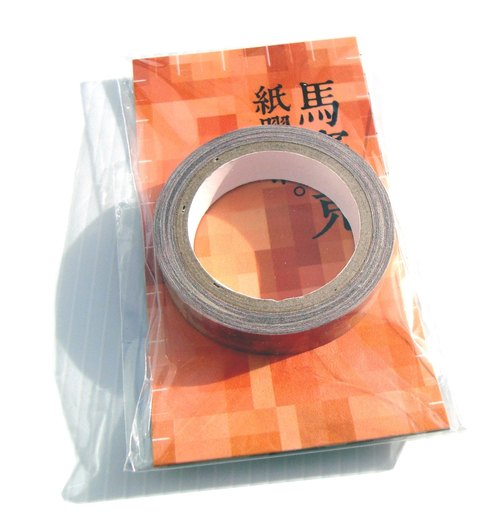 Mosaic paper tape