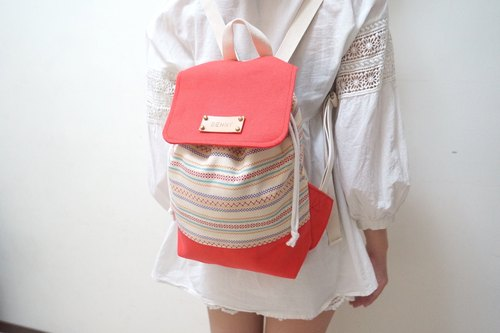 White met when ethnic orange backpacks / Get a free print name leather standard