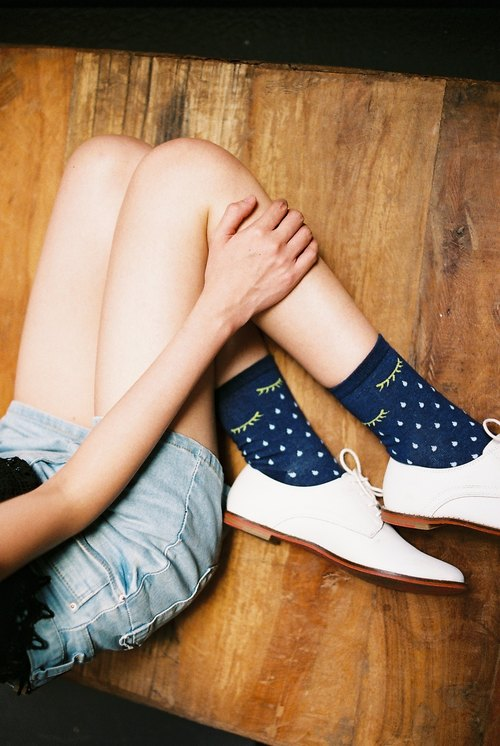The Pool Of Tears Socks_Fairy tale collection, unisex/quirky/happy socks