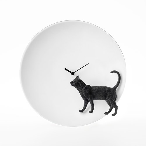 Cat X CLOCK Moonlight Guardian Cat Clock