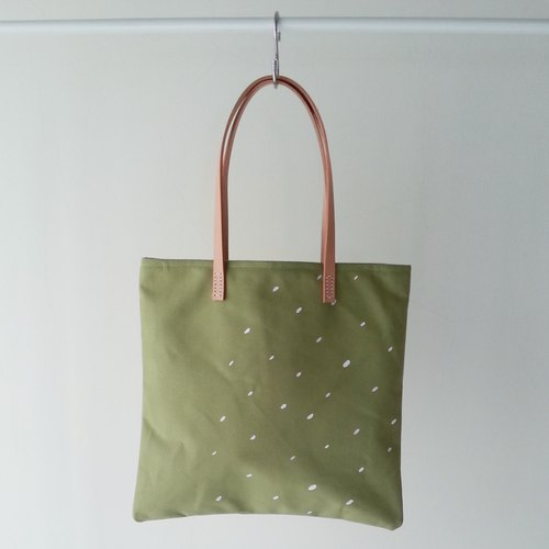 Square bag - Matcha rain