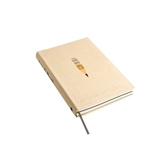 Nine mountain 224P pencils white paper notebook -02 (PENCIL)