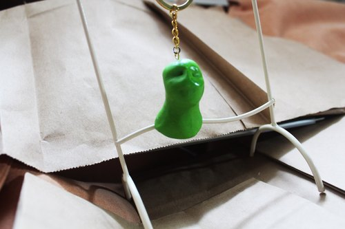 [Moses's warehouse] little green men key ring