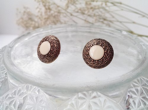 Retro handmade earrings copper [memories]