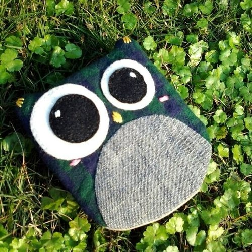 Owl lock bag. Wallets