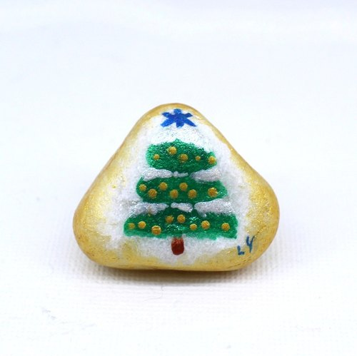 Fu police make child ‧ Christmas Stained stone (small)