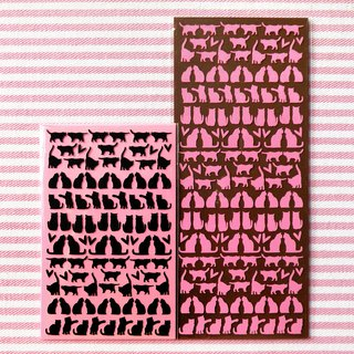 Mini Cat Stickers