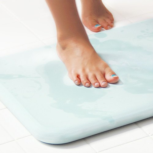 Japan Gui diatomaceous earth soil bath mat moisture-proof mat dealer particular color (blue)