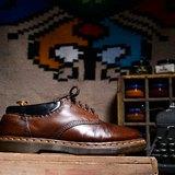 Vintage 英國Dr. Martens 咖啡色 5孔鞋